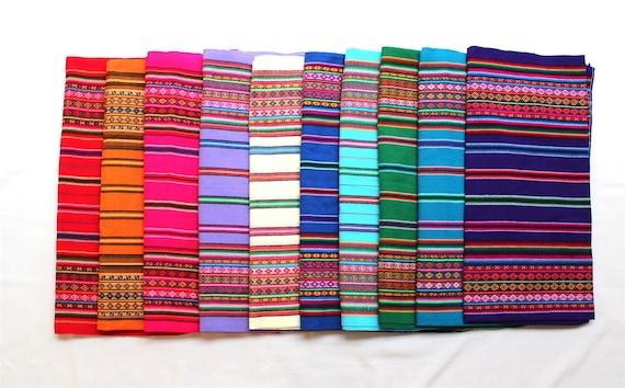 15% DESCUENTO Aguayo genuino Tela boliviano peruano  9262fdf79ec