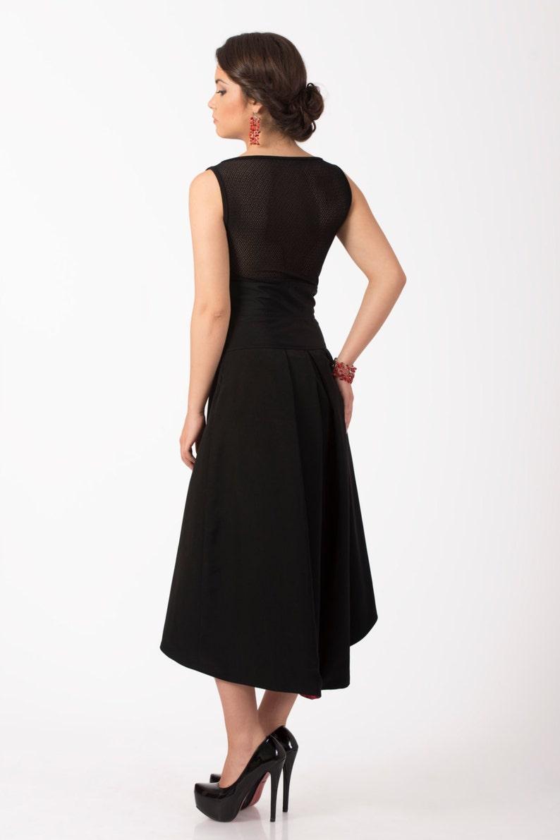 Nuovo piccolo abito nero vestito nero elegante vestito da  1450a708822