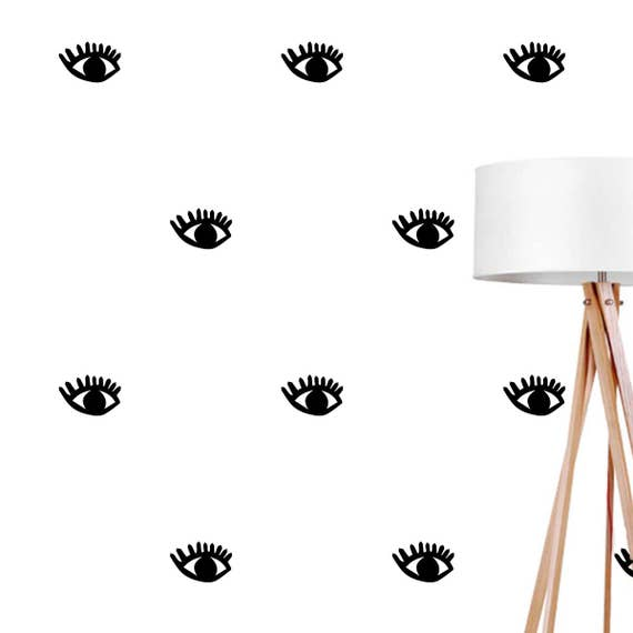 eye wall decals wall stickers eyes wall stickers eyes | etsy