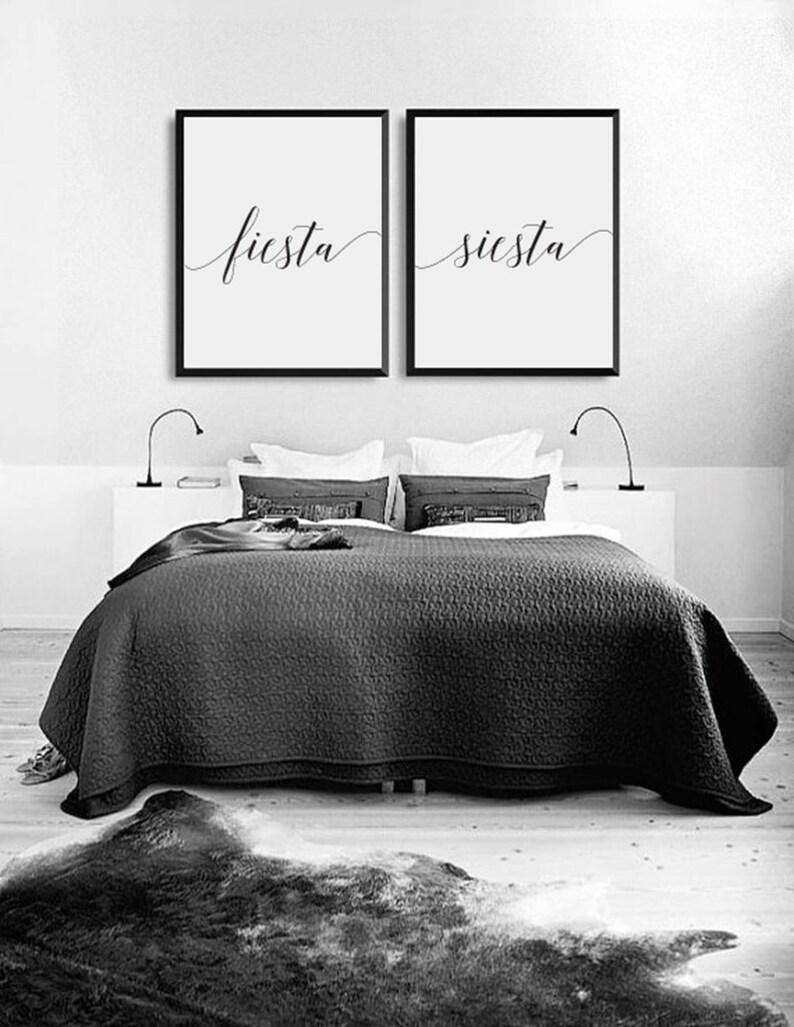Stampa di Fiesta Siesta arredamento camera da letto regalo   Etsy