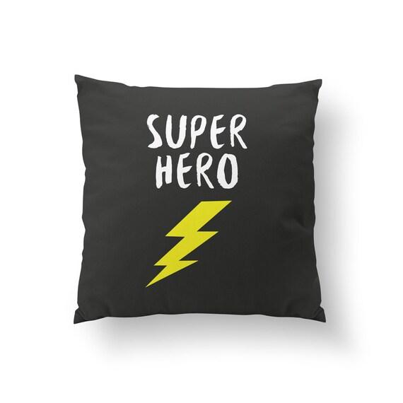 Super Helden Kissen Kinder Kissen Wohnkultur Kissen Etsy