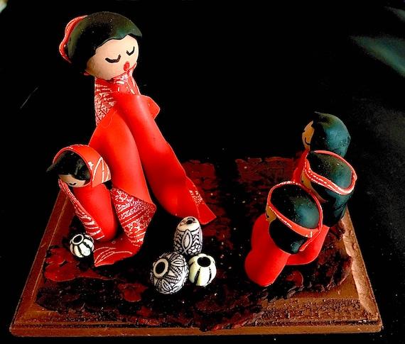 Storyteller in Red Silkscreen