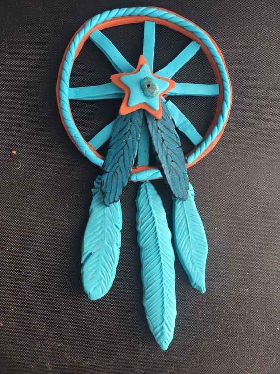 Dream Catcher Polymer Clay Large Ornament