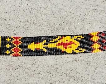 Yellowhorse Loom Beaded Bracelet