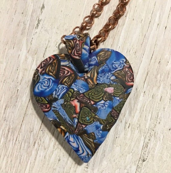 Heart Statement Pendant Necklace