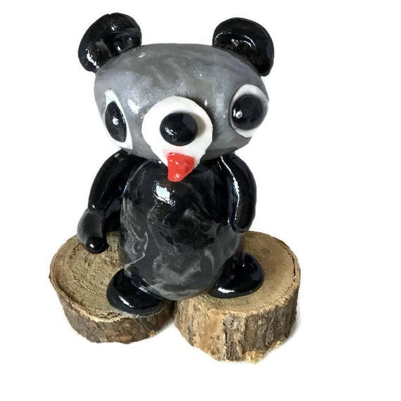 Raccoon Baby Teensies Clay Critter