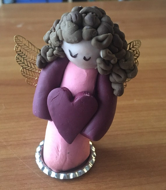 Love Bug Dark Haired Clay Angel