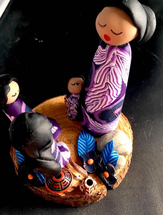 Storyteller in Purple