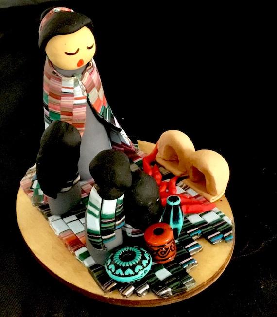 Storyteller in Multicolors