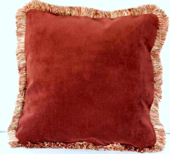 gro e dekorative samt werfen kissen mit fransen f r sofa. Black Bedroom Furniture Sets. Home Design Ideas