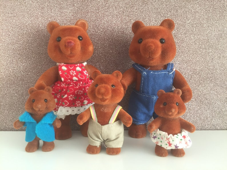 Fashion, Character, Play Dolls Dolls, Clothing & Accessories Sylvanian Families/ Forest Families Bears