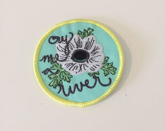 cry me a river embroidered patch