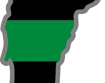 Magnet Washington Wa State Thin Green Line Military Border Patrol Agent Decal Magnetic Sticker V