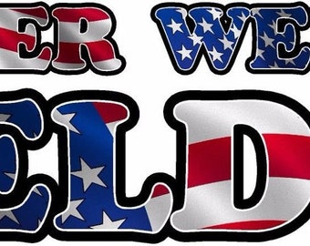 "3-6/"" Welder American Flag Decal PACK MIG TIG ARC Welding Helmet Sticker pack"