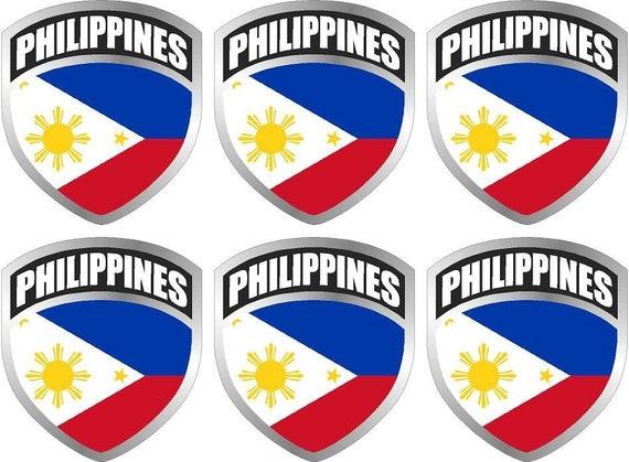 "MAGNET 2-3/"" American US USA United States flag SET shield decal badge hat M..."