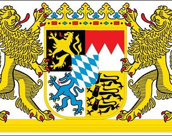 Bavaria Coat Of Arms Sticker (Germany Deutschland)