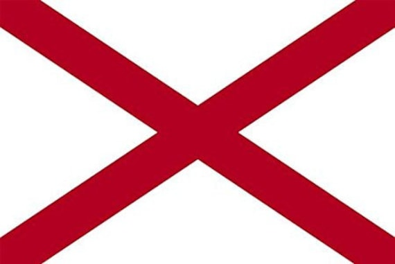 "ARIZONA SHAPED State Flag Sticker 10/"" shape phoenix car az decal"