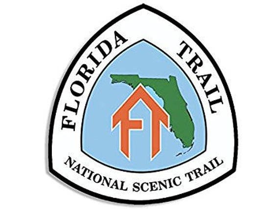 Continental Divide Trail National Scenic Sign Shaped Sticker hike decal
