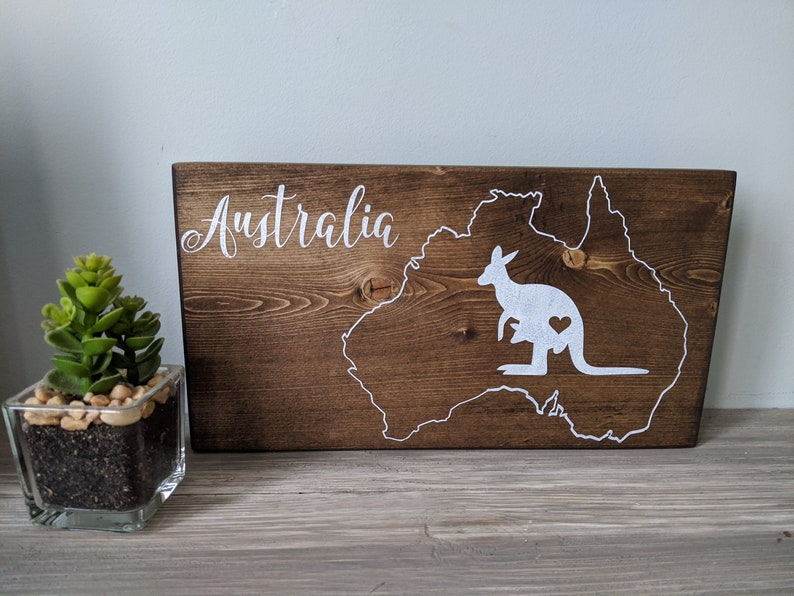 100% profits donated to Australia Wildfire relief wood image 0