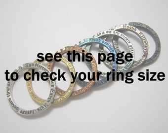 467df3564 ring size chart ( not for sale )