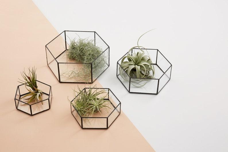 Tischdeko Hochzeit geometrisch