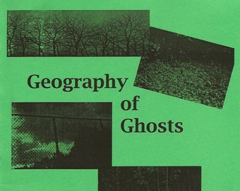 Geography of Ghosts Poetry Chapbook