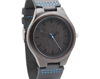 Engraved Watch - Engraved Wood Watch – Personalized Watch – Wood Watch for Him