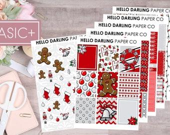 Christmas Kit, Weekly Kit, Xmas Kit, Tis the Season Stickers, Winter Stickers, Erin Condren, Planner Stickers, Happy Planner, EC, K045