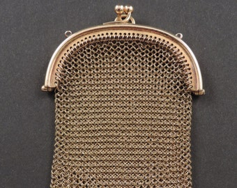 Pendant-18 ct gold Handbag Belle Epoque.