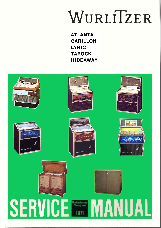 Jukebox Wurlitzer Manual High Resolution Instant Pdf