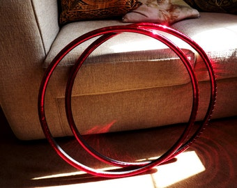 """5/8"""" &  3/4"""" Pair of Mini Polypro Hoops"""