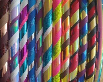 Premade ready to ship polypro hula hoops