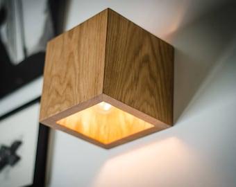 Wood Lamp | Etsy