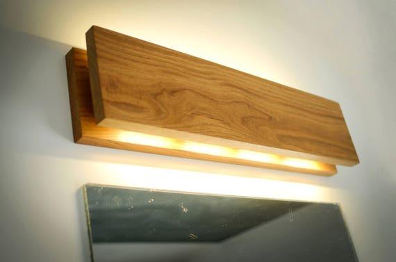Wall Lamp SC254 Handmade. Oak. Sconce. Wooden Sconce. Wood | Etsy