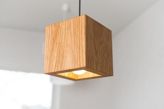 Pendant Light Shade Q424 Wooden Lamp Ceiling Light Cover Etsy
