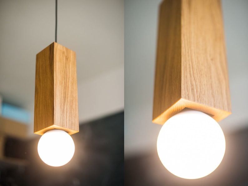 pendant lamp wood lamp wooden lamp ceiling lamp wood pendant light wood ceiling lamp ceiling light oak pendant light BASE#2 handmade