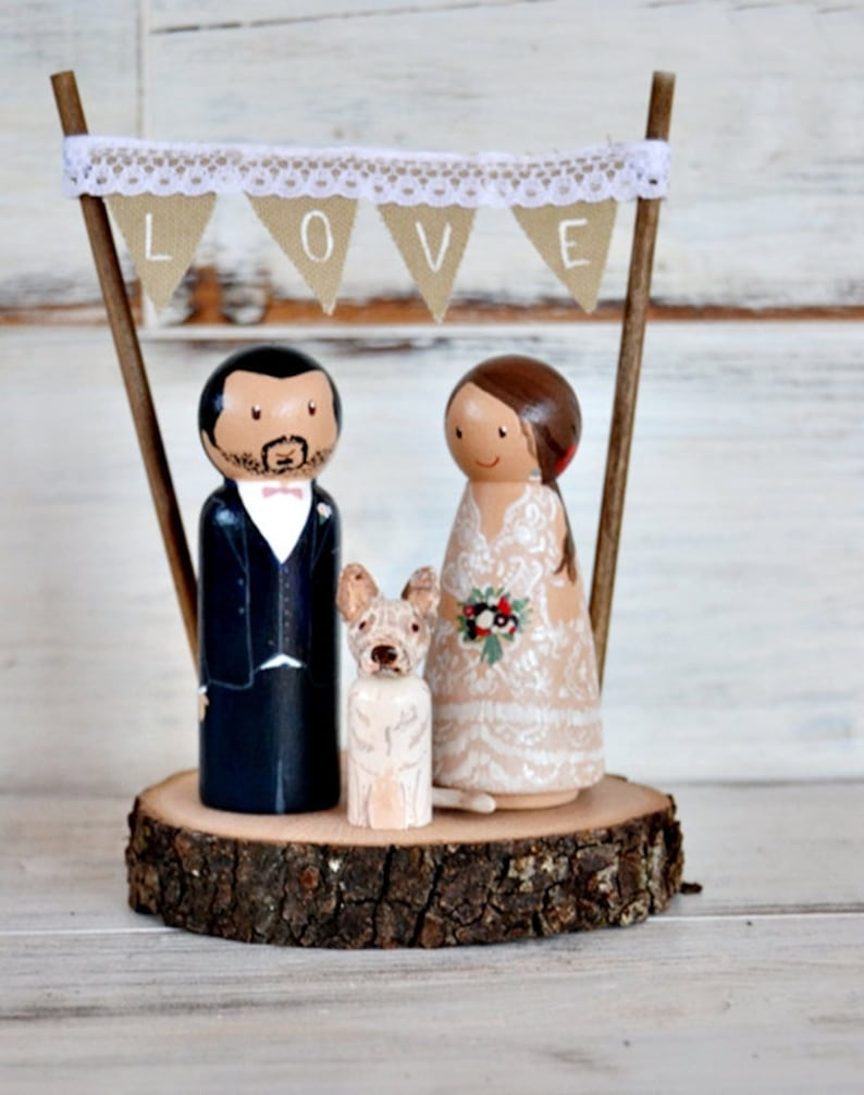 Tier Cake Topper Hochzeit