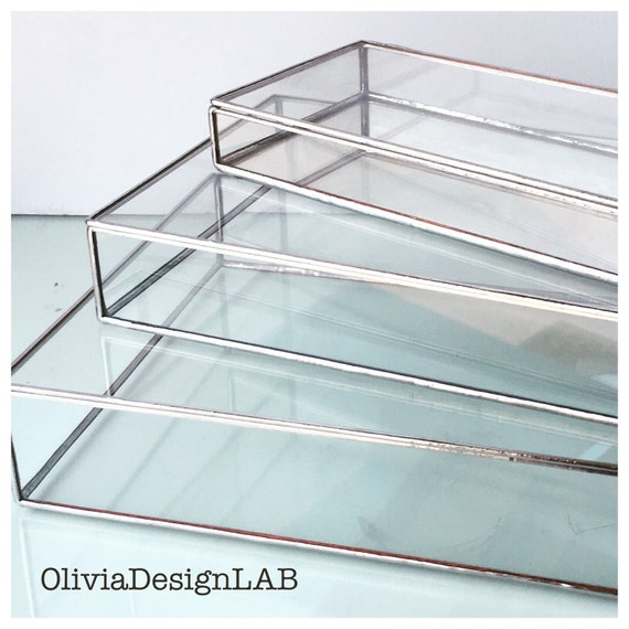 "6 x 9"" glass box, ceremony photos, wedding gift, photo glass display, jewelry ring storage tray and jewelry box."