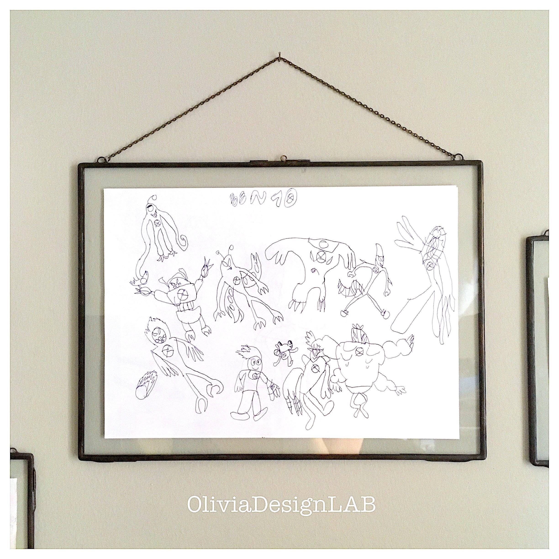 11 x 14 Glass frames, easy frame, rectangular kids draws frames ...