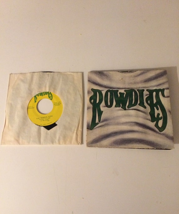 tampa bay rowdies soccer rare 45 rpm record kick in the etsy etsy