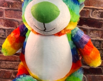 Cubbies Embrioderable Stuffed Animals