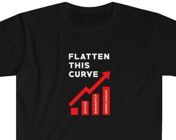 Flatten This Curve Short Sleeve Tee
