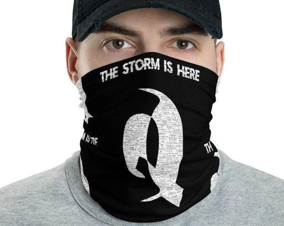 The Storm Is Here Q Neck Gaiter