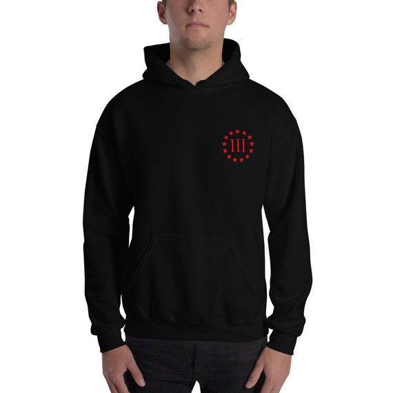 Three Percenter, We Are The Virus Hooded Sweatshirt