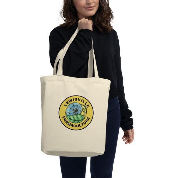 Lewisville Permaculture Eco Tote Bag