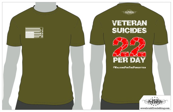 SALE! Veteran Suicide Awareness, Distress Flag logo. Two dollars of every sale goes to help veterans with PTSD