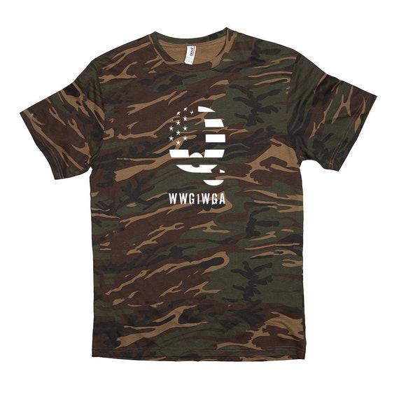 Q Camo WWG1WGA T-Shirt