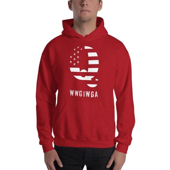 Q WWG1WGA Hooded Sweatshirt