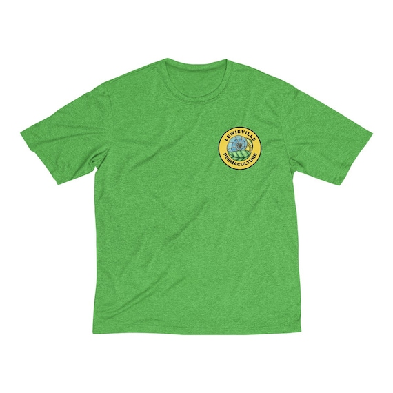 Lewisville Permaculture Men's Heather Dri-Fit Tee