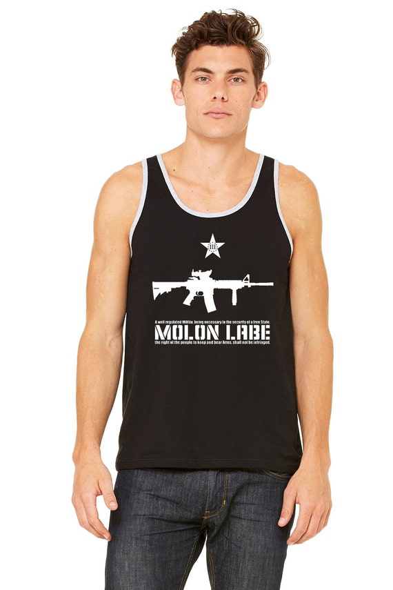 MOLON LABE!!! 2nd Amendment Tank